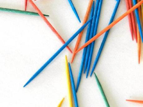 Colored Toothpicks