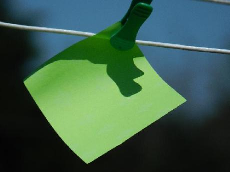 Note on a Clothesline
