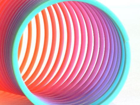 Colorful Slinky