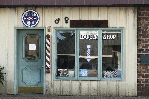 Small Town Barber Shop