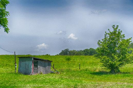 Little Shed on the Prairie